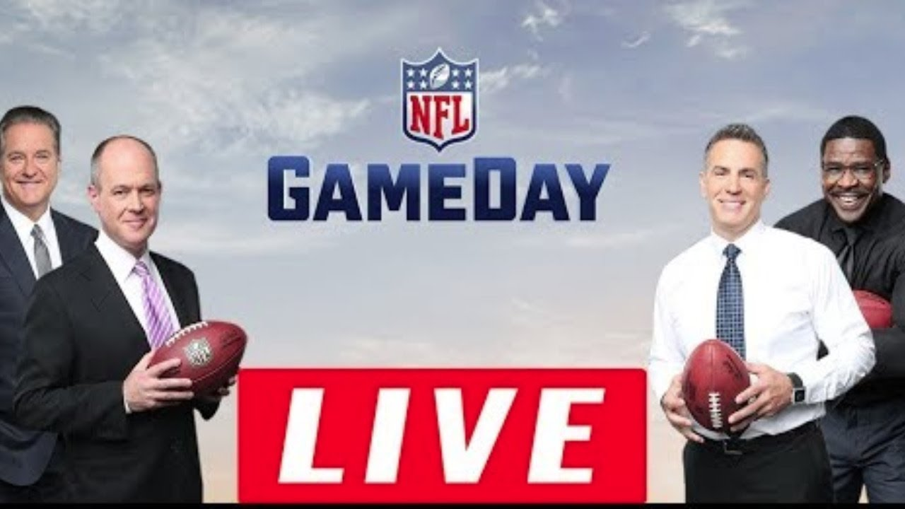 Nfl Gameday Morning Live Hd 10 11 2020 Good Morning Football Weekend On Nfl Network Youtube