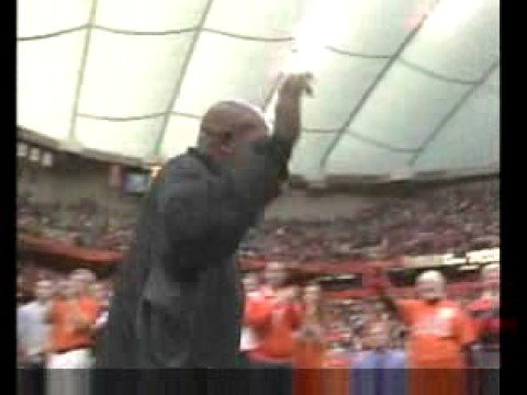 Ernie Davis retierment cermerony