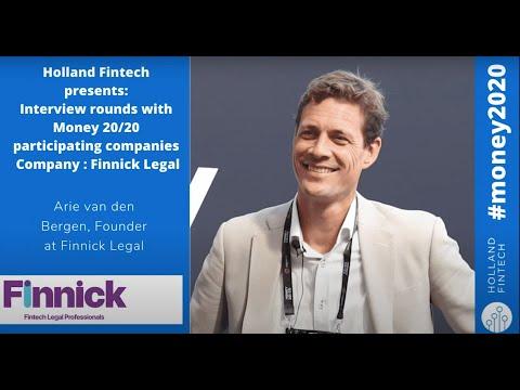 Interview with Finnick Legal. Holland Fintech at Money20/20
