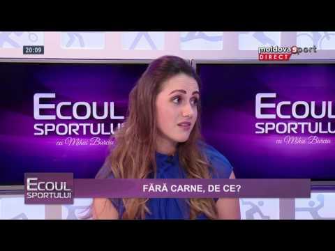 DANIELA DERMENGI LA ECOUL SPORTULUI CU MIHAI BURCIU // MOLDOVA SPORT TV, 17.08.2016