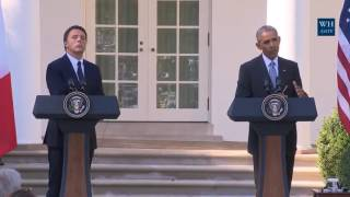 Obama Asked About Trump/Russia Relationship And Clinton Emails