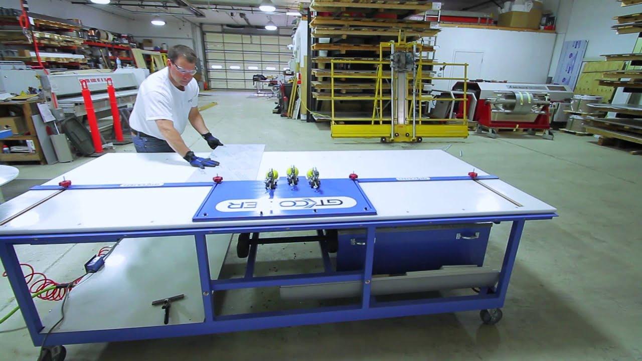 Aluminum Composite Fabrication Equipment | GT Colter