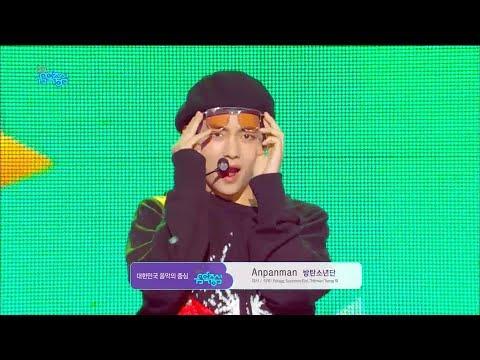 【TVPP】BTS - Anpanman, 방탄소년단 – 앙팡맨@Showmusiccore 2018