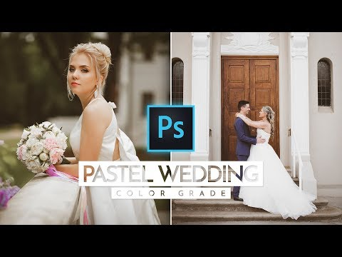 How To Add Pastel Wedding Photo Effect in Photoshop thumbnail