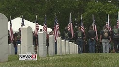 Unclaimed veterans laid to rest in Middletown military funeral