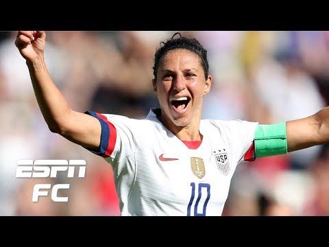 Carli Lloyd Stars In USWNT's Win Vs. Chile, So Why Isn't She A Starter? | FIFA Women's World Cup