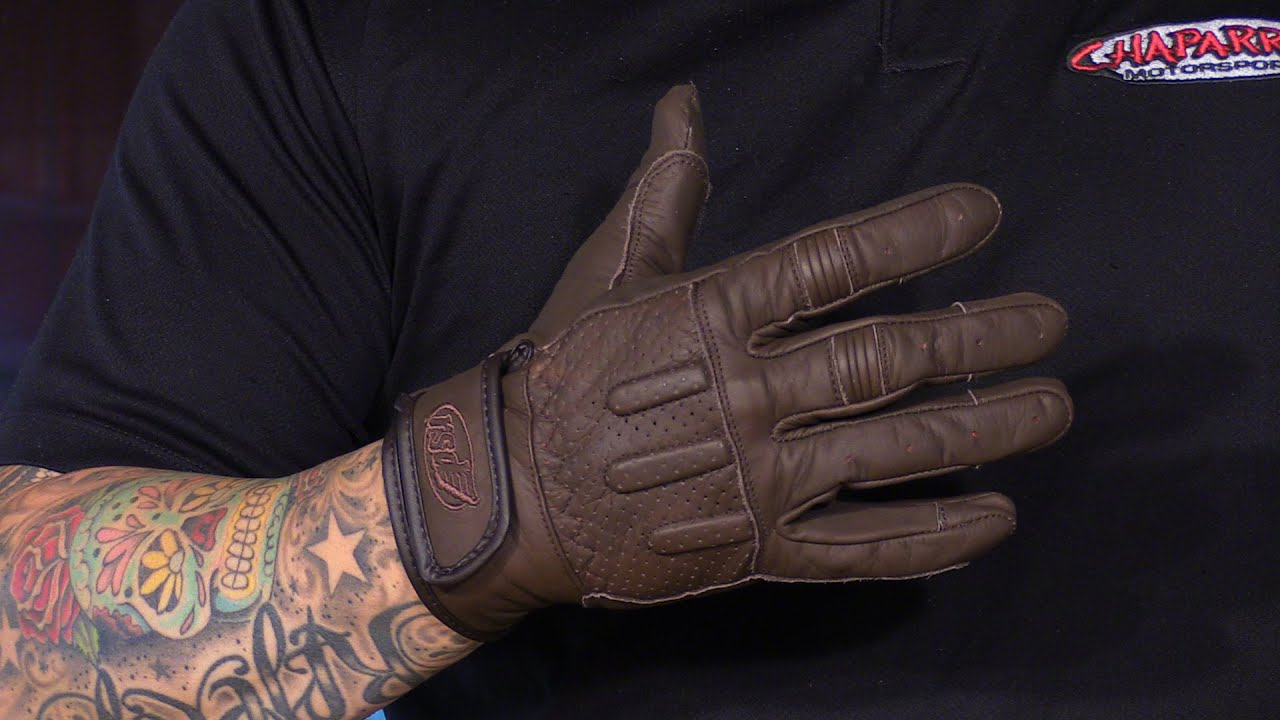 Motorcycle gloves review 2016 - Roland Sands Design Barfly Leather Motorcycle Gloves Review 2016 12 28