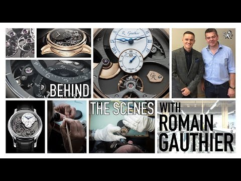 Download Youtube: An Exclusive Behind The Scenes At Romain Gauthier - Independent In-House Haute Horlogerie Watchmaker