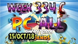Angry Birds Friends Tournament All Levels Week 334-C PC Highscore POWER-UP walkthrough