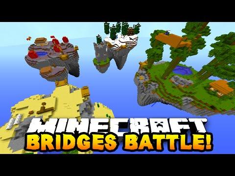 """Minecraft BRIDGES BATTLE """"SKY BRIDGES!"""" #8"""