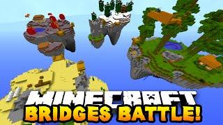 Minecraft BRIDGES BATTLE 'SKY BRIDGES!' #8 - w/ PrestonPlayz, MrWoofless & PeteZahHutt