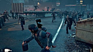 Days Gone   Zombies Horde Boss Fight Days Gone 2019 PS4 Pro