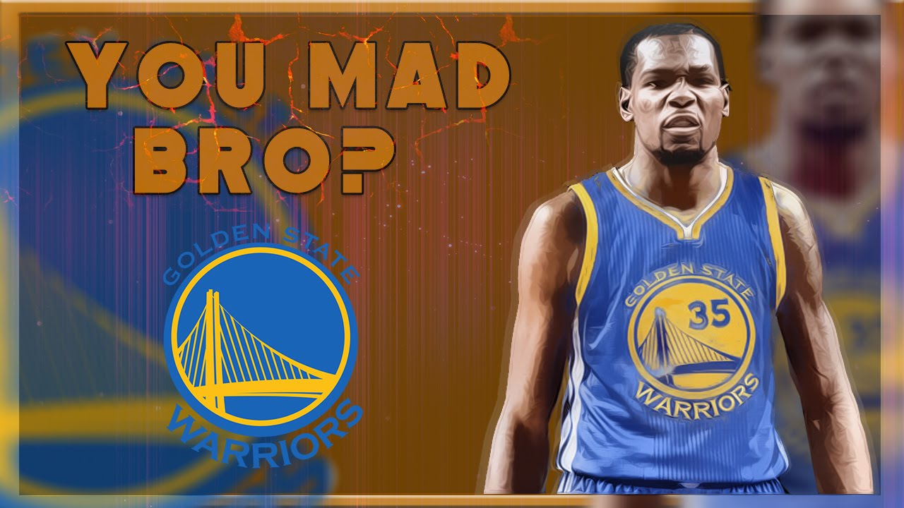 dc9b61ff788 KD SAYS F  K YOU TO OKC AND GOES TO WARRIORS! Kevin Durant Chooses Golden  State REACTION! - YouTube