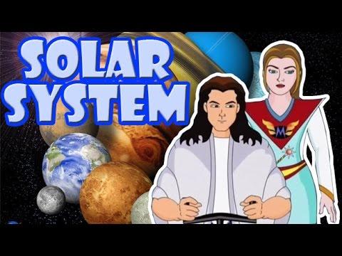Solar System | Kids Cartoon Story in English | Lehren Kids