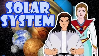 Solar System | Kids Cartoon Story in English | Lehren Kids