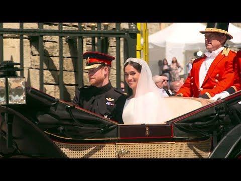 イギリスのハリー王子とメーガン・マークルさんが結婚!