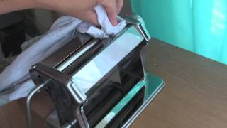 Cleaning My Pasta Machine