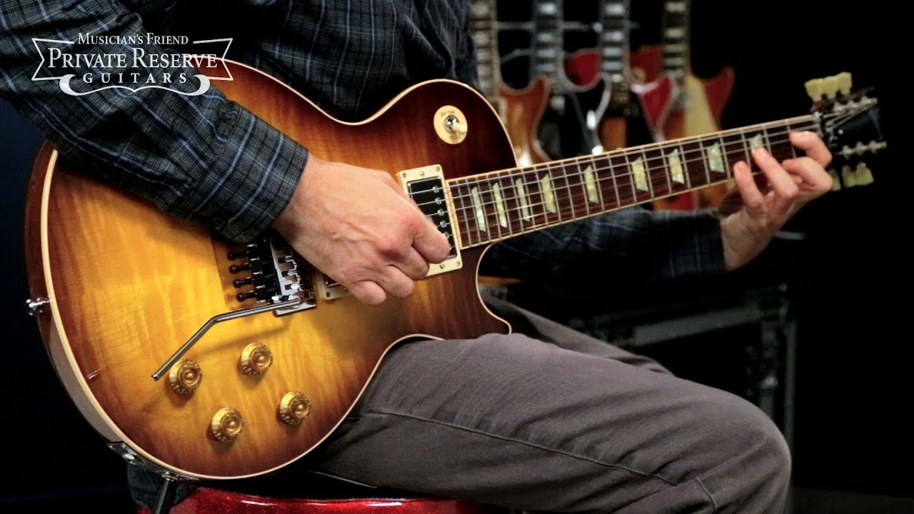 Gibson Custom Alex Lifeson Les Paul Axcess Electric Guitar Youtube
