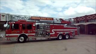 Bryan Tx Fire Dept. TRUCK 1