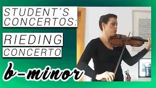 Rieding, Oskar: Concerto op. 35, b-minor/ h-Moll, Allegro Moderato, Andante, Allegro Moderato