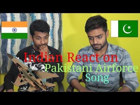 Indian Reaction on Pakistani Airforce song || Tum he say ay Mujahido by JunaidJamshed  || A.K Rocks