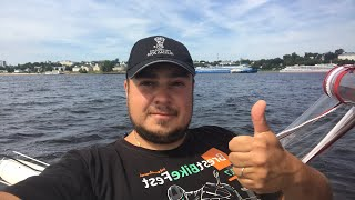 Поход на катере. Московская кругосветка на лодке. По волге на яхте. Эфир из Костромы