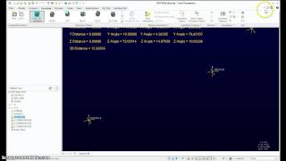 PTC Creo - CSYS Dynamic Matrix