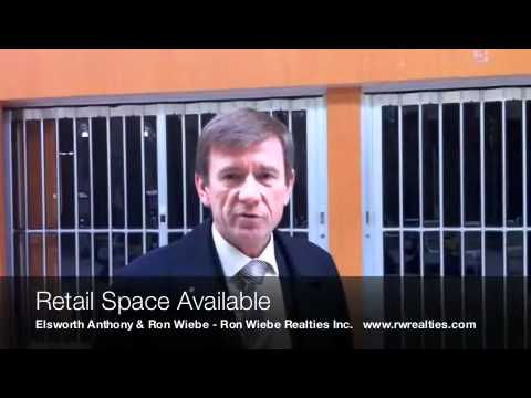 Montreal Real Estate TV - Retail Space Available