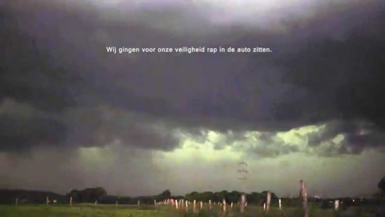 7f8acd53c4db9 Code rood extreem onweer bow-echo op 9 juni 2014 - YouTube