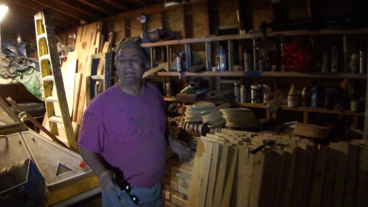 Greg Zanis Finds Free Lumber On Craigslist