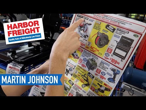 Shopping at Harbor Freight Tools - AWESOME or NOT?