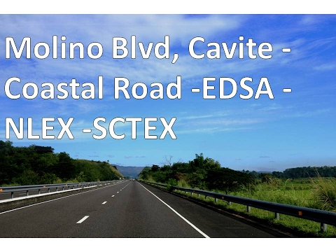 Molino Blvd, Cavite-Coastal Road-EDSA-NLEX-SCTEX
