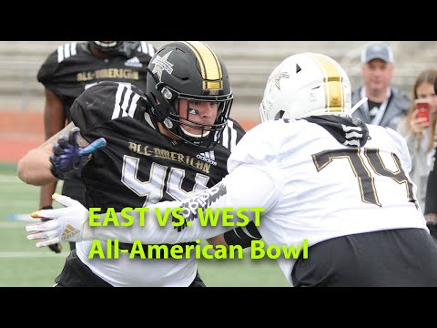 2020 All-American Bowl: EAST Vs. WEST - OL Vs DL 1-on-1s