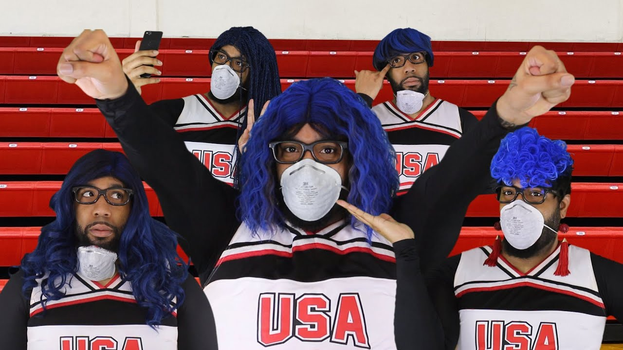 Download Starrkeisha's Quarantine Cheer Squad! 🔥😂