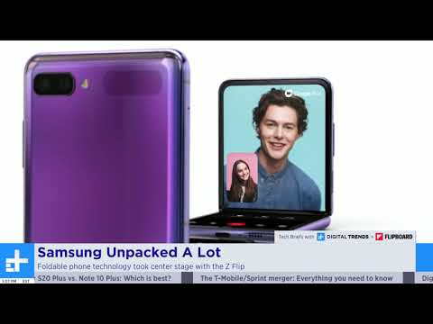 MWC 2020 Canceled and Everything Announced at Samsung Unpacked (Z Flip, S20, Buds+) - Tech Briefs