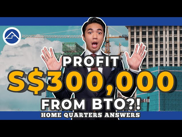 S$ 300,000 of BTO profit ! | Home Quarters Answers Ep 22