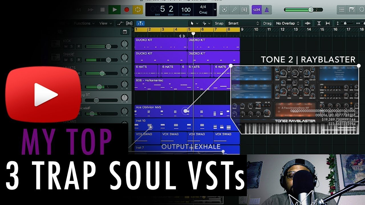 My Top 3 Vsts For Making Trap Soul Beats