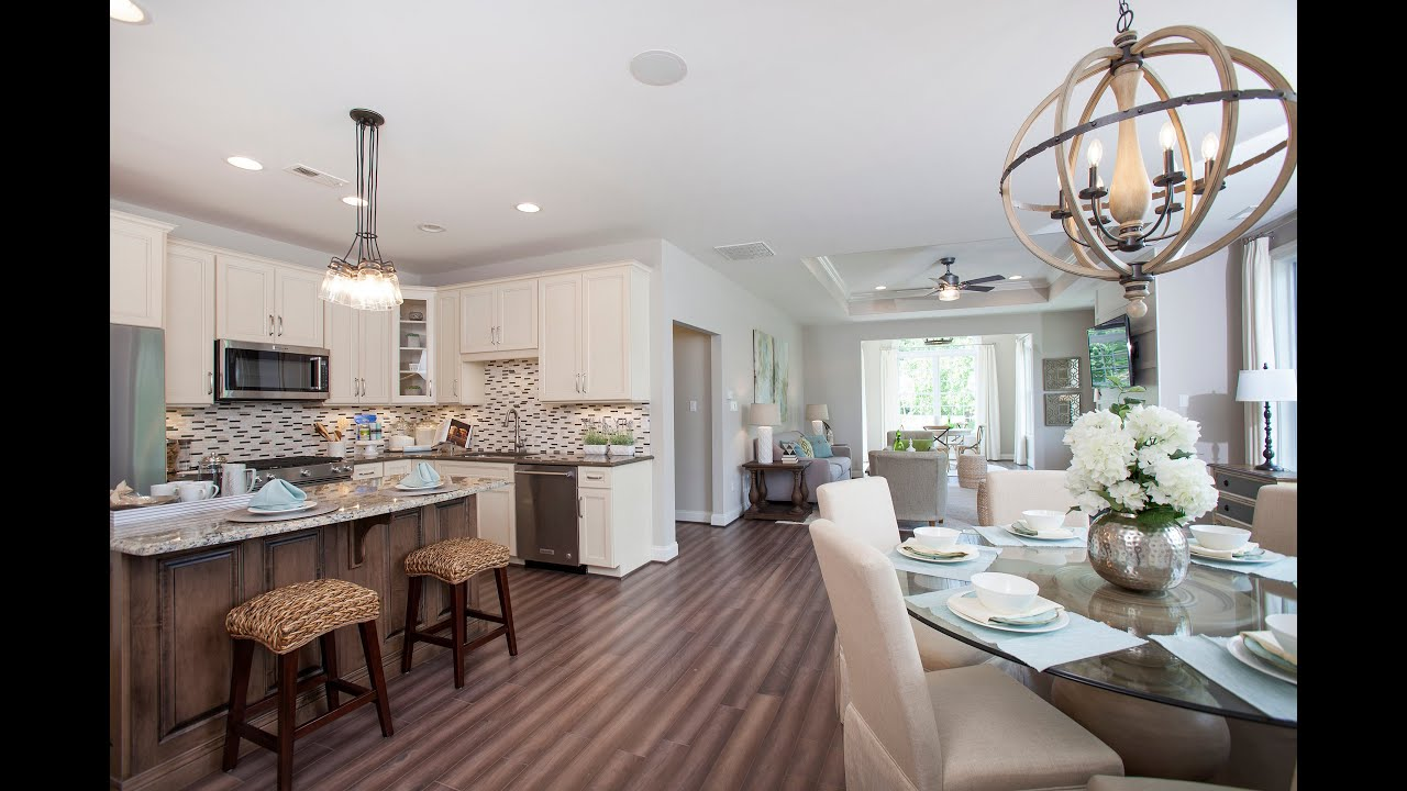 The Jefferson - A Designer Model Home by Traditions of America - YouTube
