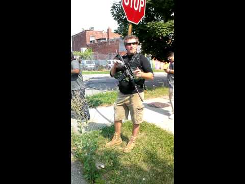 Open Carry - Local Detroit Citizens Carrying Assault Weapons (Shot By. Phresh Flo Films)