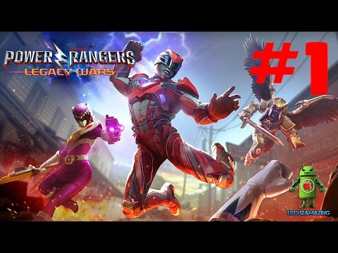 POWER RANGERS LEGACY WARS GAMEPLAY - iOS / Android Video - HD