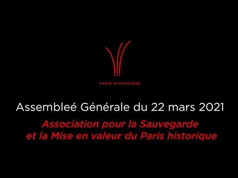 Assemblée Générale 2021 de Paris historique