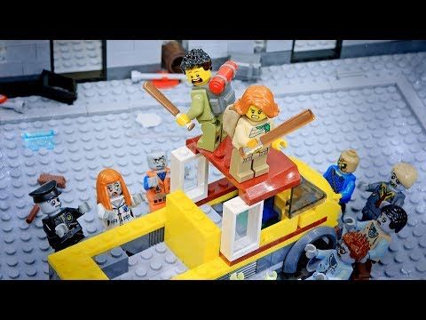 Lego Zombie Attack Part 1: Outbreak