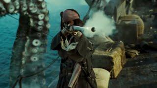 Pirates Des Caraibes 2 - Pearl VS Kraken (Scène Culte)