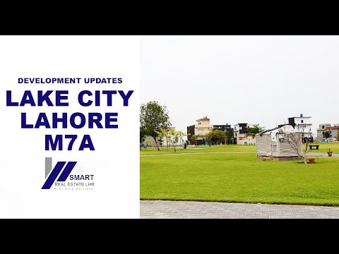 LAKE CITY LAHORE M7A BLOCK VISITED BY SMART REAL ESTATE 16-04-2019