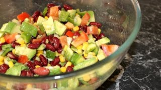 Salade Mexicaine | Muslim Queens by Mona