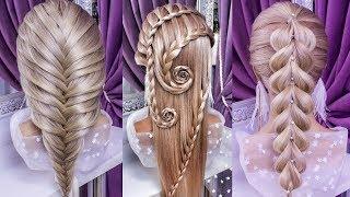 топ 7 Красивые и Легкие Прически.Top 7 Amazing Hair Transformations