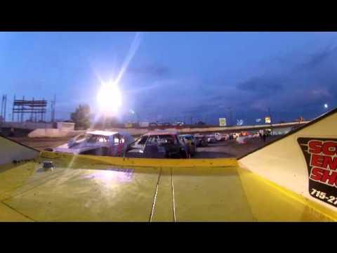 Doug LaPierre 76x Lou Fegers Scotts Engine Shop Electric City Speedway, Feature win 7-28-2012