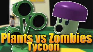 NEW CUTICLE! 😱😂 | ROBLOX: Plants vs. Zombies Tycoon #2