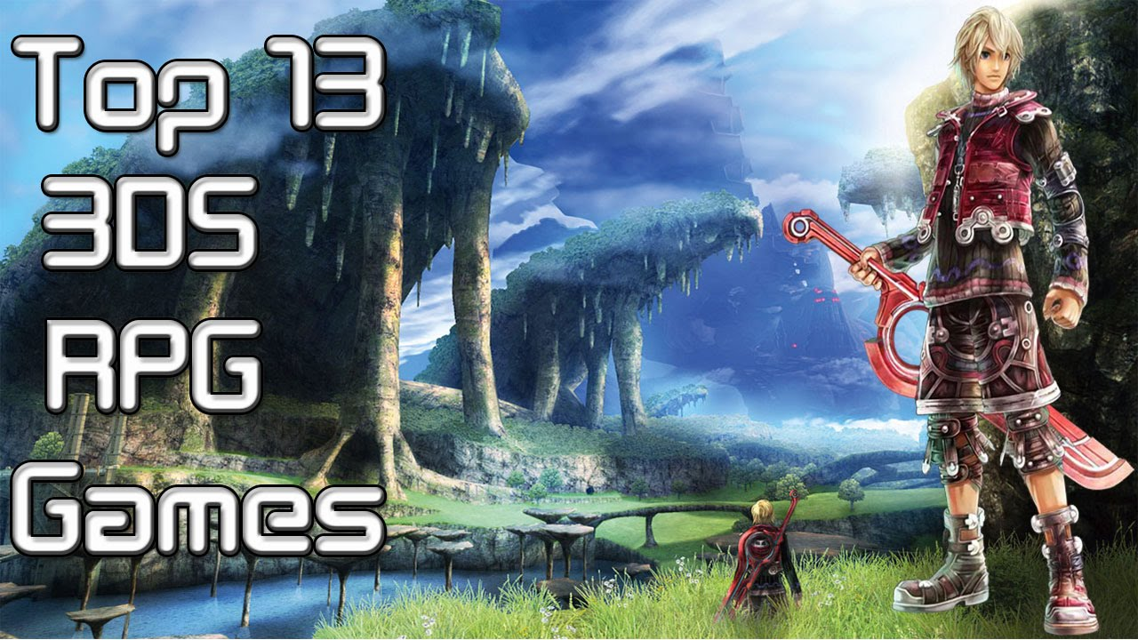 My Top 13 Favourite 3DS RPG Games 2015   2016   YouTube
