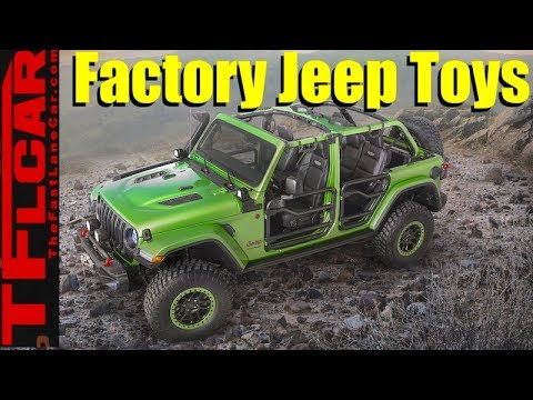 2018 Jeep Wrangler JL Factory Parts and Accessories Revealed